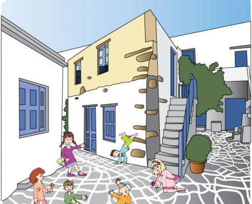 MUNICIPALITY OF ANTIPAROS ISLAND-DIARY-COVER